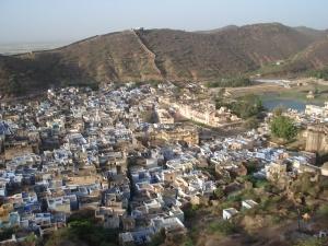 Bundi View from palace