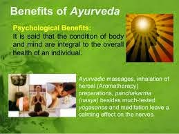 Ayurveda benefits