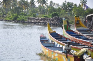 A set of fishing boats